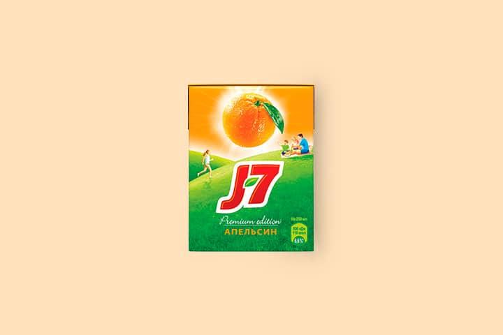J7 0,2 л Апельсин