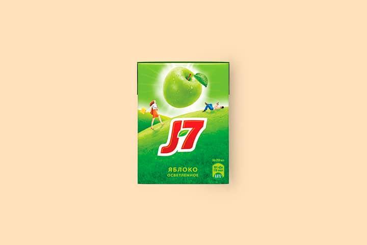 J7 0,2 л Яблоко