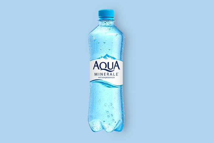 Аква Минерале без газа 0,5 л