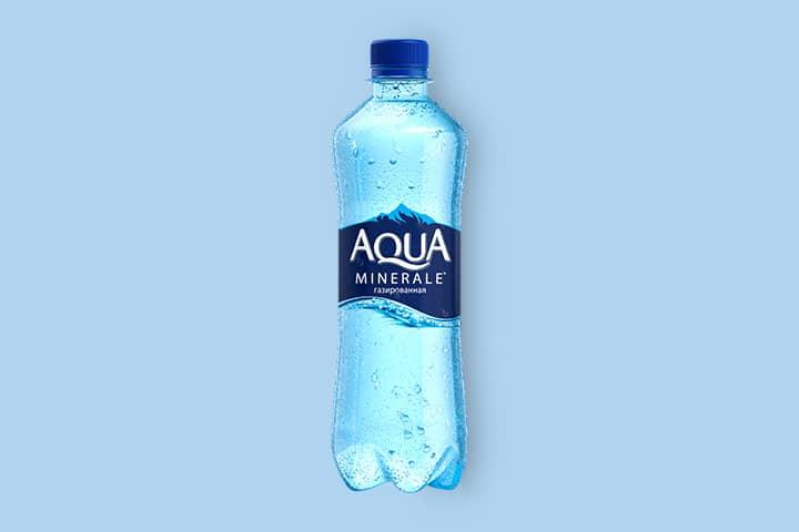 Аква Минерале с газом 0,5 л